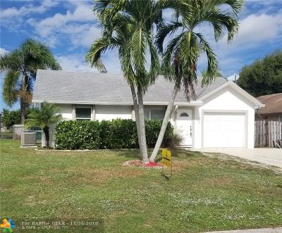 Boynton Beach Single Family Home For Sale: 5755 Pebble Brook Ln