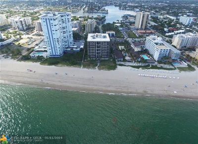 Pompano Beach Condo/Townhouse For Sale: 1300 S Ocean Blvd #PH4