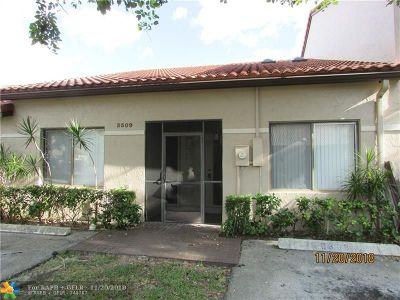 Lauderhill FL Condo/Townhouse For Sale: $199,900