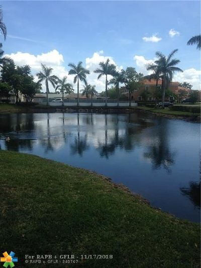 Tamarac FL Condo/Townhouse For Sale: $115,000