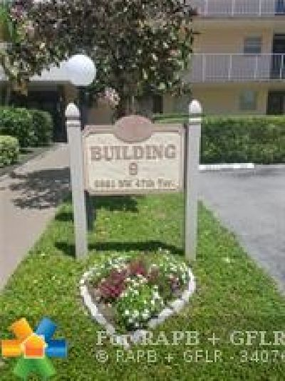 Lauderdale Lakes Condo/Townhouse For Sale: 2861 NW 47th Ter #110A