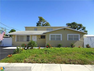 Pompano Beach Single Family Home For Sale: 1530 NW 2nd Ave