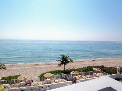 Fort Lauderdale Condo/Townhouse For Sale: 4250 Galt Ocean Dr #3U