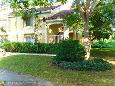 Oakland Park Condo/Townhouse For Sale: 2420 NW 33rd St #1006