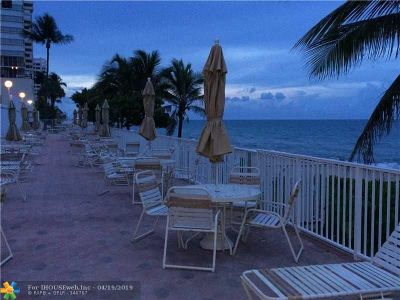 Fort Lauderdale Condo/Townhouse For Sale: 4250 Galt Ocean Drive #6F