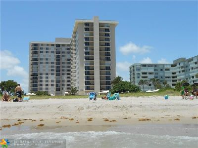 Lauderdale By The Sea Condo/Townhouse For Sale: 1900 S Ocean Blvd #9T