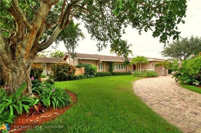 Coral Ridge, Coral Ridge 21-50 B, Coral Ridge Add, Coral Ridge Country Club Single Family Home For Sale: 3607 NE 24th Ave