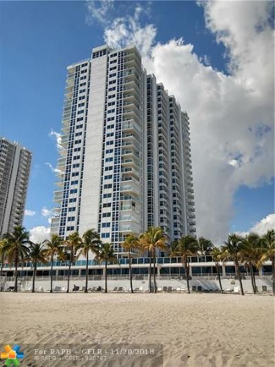 Pompano Beach Condo/Townhouse For Sale: 1360 S Ocean Blvd #1407