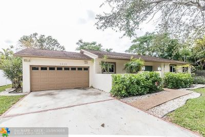 Fort Lauderdale Single Family Home For Sale: 3420 SW 26th Ct
