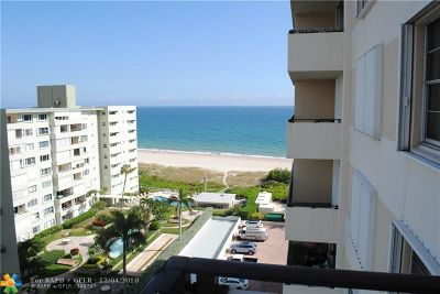 Lauderdale By The Sea Condo/Townhouse For Sale: 1900 S Ocean Blvd #9K