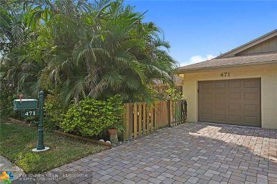 Plantation FL Condo/Townhouse For Sale: $280,000