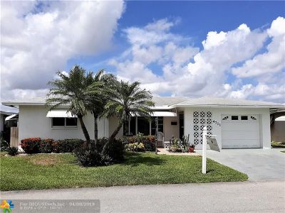 Tamarac Single Family Home For Sale: 4711 NW 48th Ave