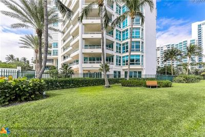 Pompano Beach Condo/Townhouse For Sale: 1700 S Ocean Blvd #4D
