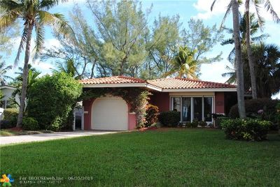 Pompano Beach Single Family Home For Sale: 412 Briny Ave