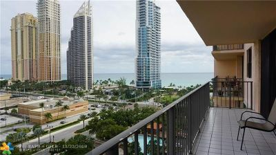 Sunny Isles Beach Condo/Townhouse For Sale: 210 174th St #1212