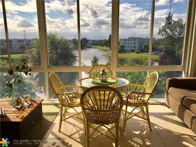 Deerfield Beach FL Condo/Townhouse For Sale: $85,000
