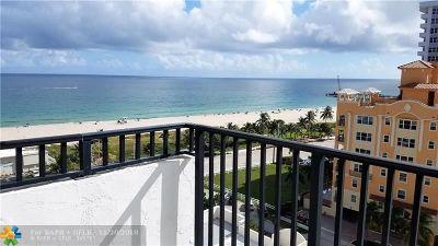 Pompano Beach Condo/Townhouse For Sale: 525 N Ocean Blvd #1215