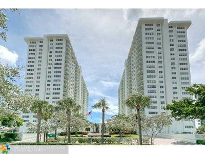 Fort Lauderdale Condo/Townhouse For Sale: 3400 Galt Ocean Dr #1205S