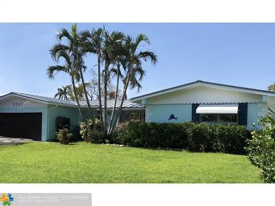 Pompano Beach Single Family Home For Sale: 3207 Beacon St