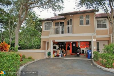 Coral Springs Condo/Townhouse For Sale: 4943 Riverside Dr #701D