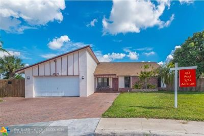 Margate Single Family Home For Sale: 2879 NW 52nd Ter
