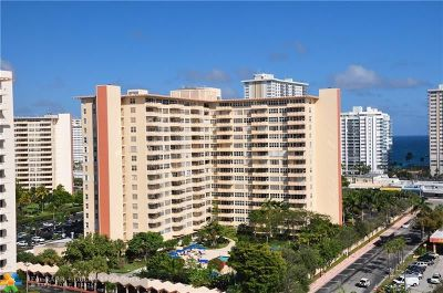 Fort Lauderdale Condo/Townhouse For Sale: 3333 NE 34th St #902