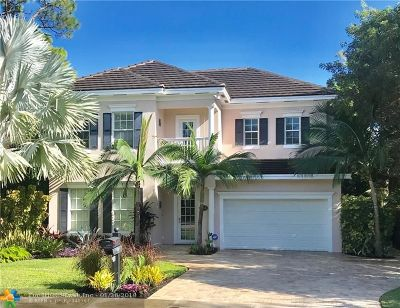 Wilton Manors Single Family Home For Sale: 2040 NE 6th Ter