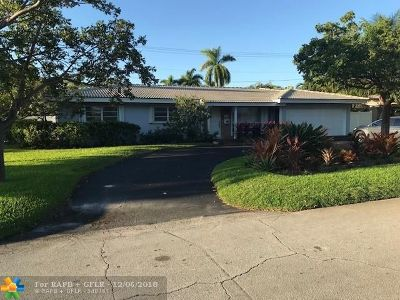 Fort Lauderdale Single Family Home For Sale: 2040 NE 54th St