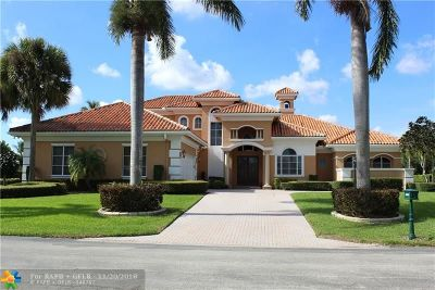 Boynton Beach FL Single Family Home For Sale: $1,650,000