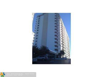 Fort Lauderdale Condo/Townhouse For Sale: 4250 Galt Ocean Dr #15E