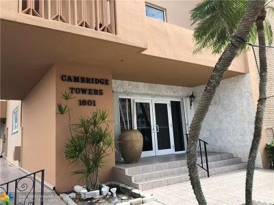 Hollywood Condo/Townhouse For Sale: 1601 S Ocean Dr #105