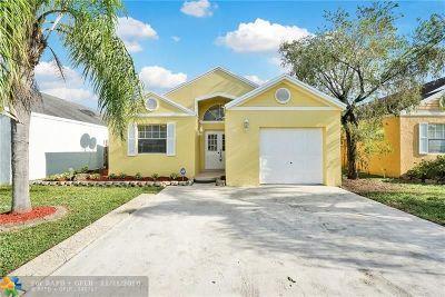 Miramar FL Single Family Home For Sale: $284,900