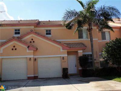 Miramar FL Condo/Townhouse For Sale: $279,000