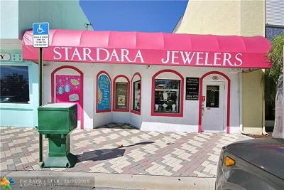 Deerfield Beach Commercial For Sale: 109 SE 15th Ter