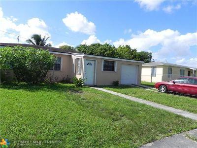 Miami Single Family Home For Sale: 13840 Jackson St