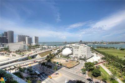 Miami Condo/Townhouse For Sale: 1040 Biscayne Blvd #1001