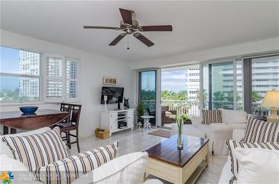 Fort Lauderdale Condo/Townhouse For Sale: 1920 S Ocean Dr #402