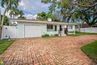 Fort Lauderdale Single Family Home For Sale: 709 SE 7th St