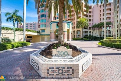 Boca Raton Condo/Townhouse For Sale: 300 SE 5th Ave #7040