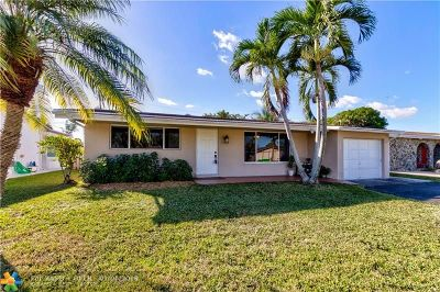 Sunrise Single Family Home For Sale: 9770 NW 25th St