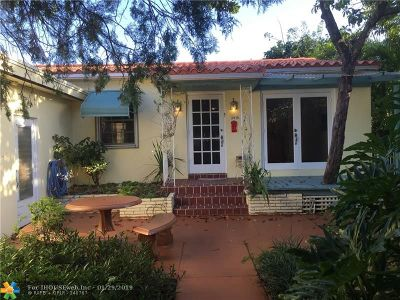 Hollywood Single Family Home For Sale: 2416 Lincoln St