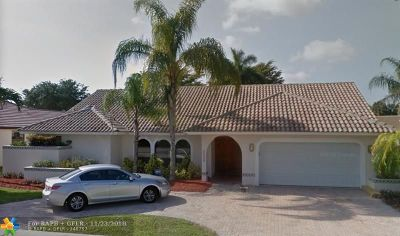 Broward County, Palm Beach County Single Family Home For Sale: 5756 Boca Chica Ln