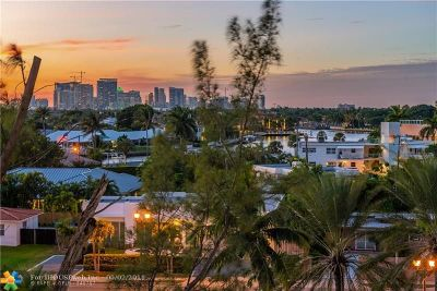 Fort Lauderdale Condo/Townhouse For Sale: 3000 Holiday Dr #605