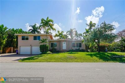 Fort Lauderdale Single Family Home For Sale: 2514 NE 24th St
