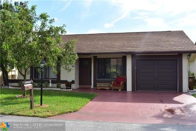 Deerfield Beach Single Family Home For Sale: 1996 SW 15th Court