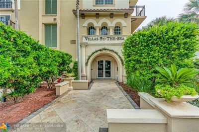 Lauderdale By The Sea Condo/Townhouse For Sale: 4444 El Mar Dr #3201
