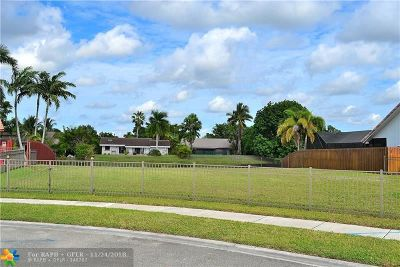 Plantation Residential Lots & Land For Sale: 9861 SW 3 Ct