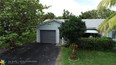 Tamarac Single Family Home For Sale: 7103 NW 76th Ct