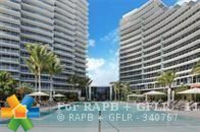 Fort Lauderdale Rental For Rent: 2200 N Ocean Blvd #N604
