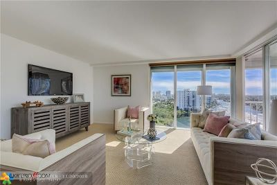 Fort Lauderdale Condo/Townhouse For Sale: 2800 E Sunrise Blvd #16A